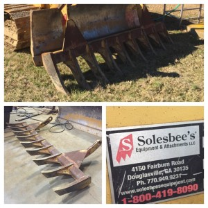 10′ Solesbee's Heavy-duty Root Rake